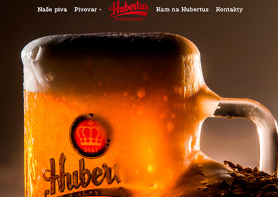Hubertus brewery website